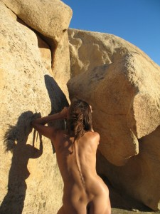 DF Shoots Slot in Rock
