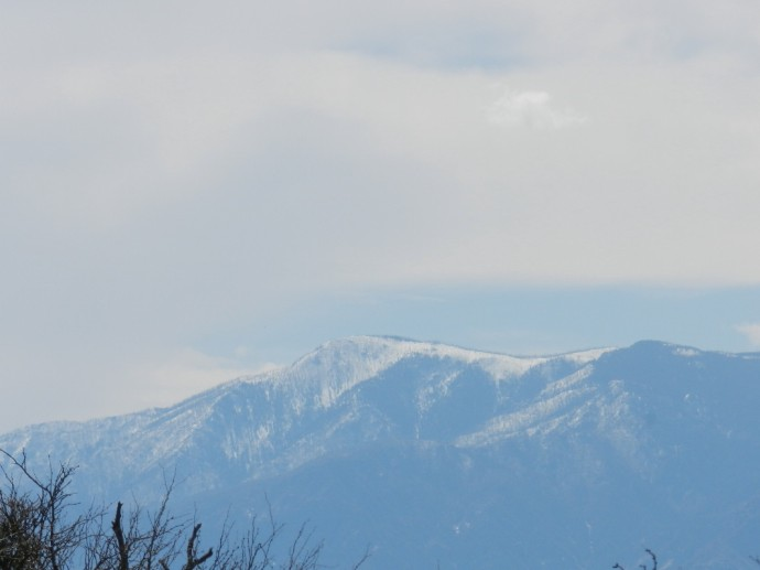 Mt. Graham with a zoom lense