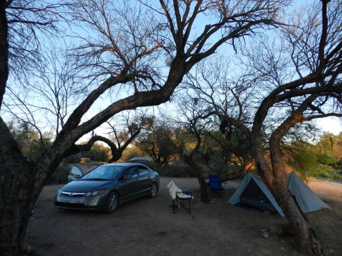 Basic Tent Configuration
