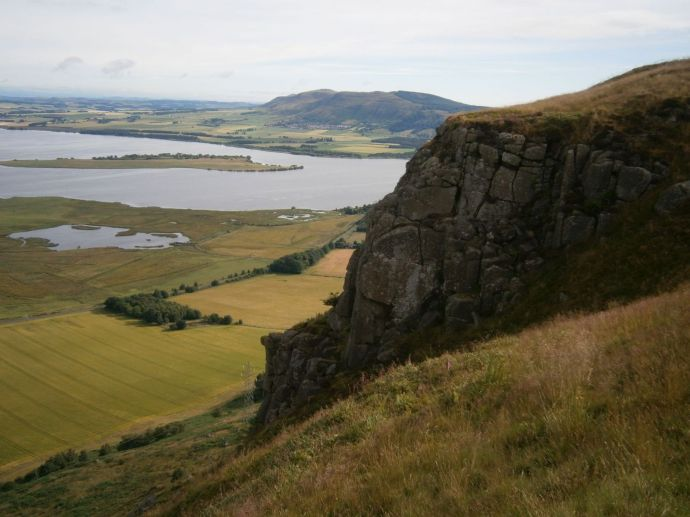 Cliffs of Benarty Hill and Loch Leven
