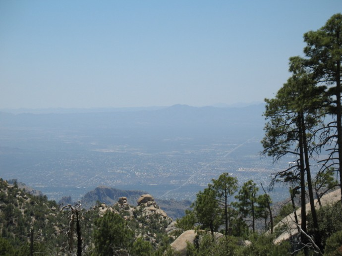 Tucson Far Below
