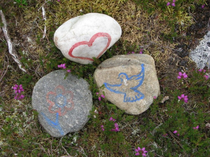 Rock art on top of Carn Na Leitire 2_1