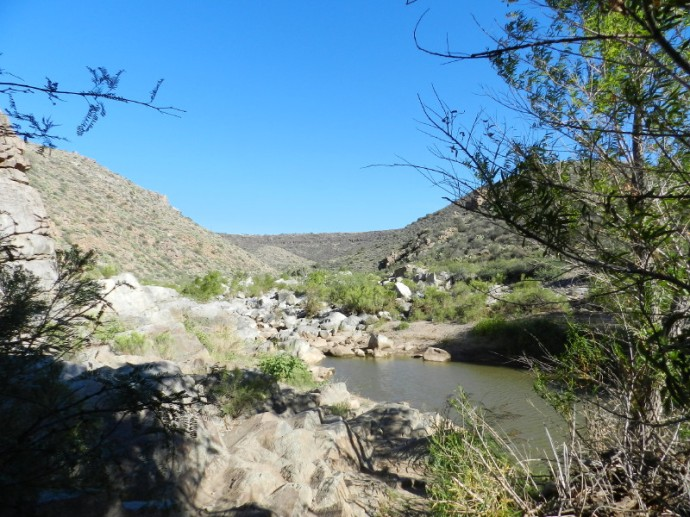 Where Two Guys Upstream Were