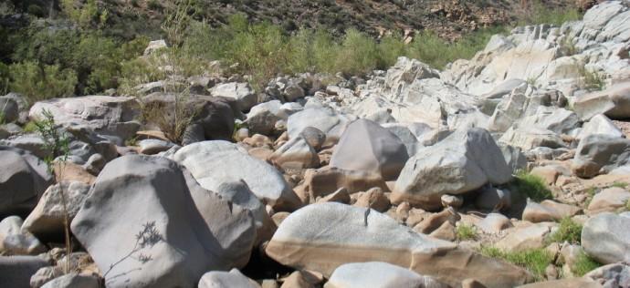 Rocks Remind Me of Ice